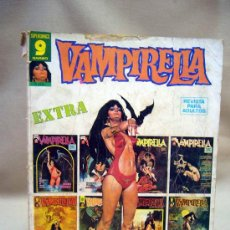 Cómics: COMIC, VAMPIRELLA, EXTRA, GARBO, TAPAS SUELTAS Y ROTAS EN EL BORDE, SUPERCOMICS, ORIGINAL. Lote 28708637