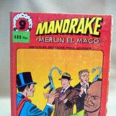 Cómics: COMIC, GARABO, MANDRAKE, Nº 2 - 14 - 20 - 11 - 8 - 17 - 5 - 23 - TAPAS DURAS, SUPERCOMICS. Lote 28710586