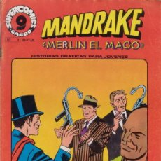 Cómics: MANDRAKE. MERLIN EL MAGO. Nº 2. SUPER COMICS GARBO.. Lote 28993728