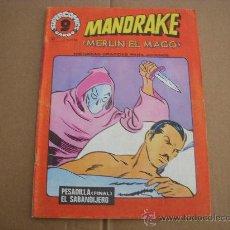 Cómics: MANDRAKE Nº 17, EDITORIAL GARBO. Lote 29550371
