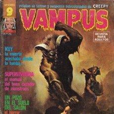 Cómics: VAMPUS 59 - KEN KELLY, JOSÉ GUAL, JOAQUIN BLAZQUEZ, JOHN SEVERIN, ALFONS FIGUERAS, TOTH... - GARBO. Lote 30803580