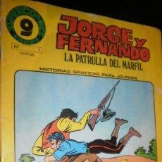 Cómics: JORGE Y FERNANDO Nº 7 LA PATRULLA DEL MARFIL . Lote 30959469