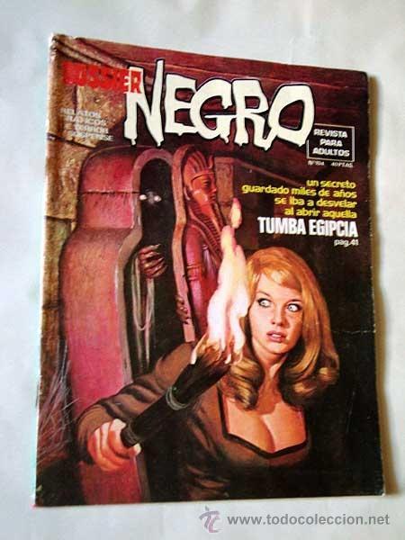 DOSSIER NEGRO Nº 104. SEGRELLES, RICHARD CORBEN, RAMÓN TORRENTS, FIGUERAS, LA COSA DEL PANTANO. (Tebeos y Comics - Garbo)