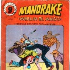 Cómics: TEBEO MANDRAKE, MERLÍN EL MACO, SUPERCOMIC, Nº 8. Lote 31952536