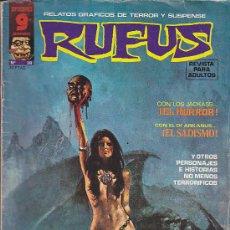 Cómics: RUFUS Nº 28. Lote 32289727
