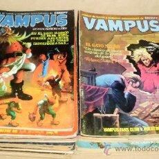Cómics: LOTE VAMPUS NºS 7 43 45 48 52 74 75 - TAMBIÉN SUELTOS. Lote 33975838