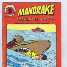 Cómics: SUPERCOMICS GARBO Nº 14. MANDRAKE, MERLÍN EL MAGO (LEE FALK). GARBO, 1973. Lote 32982968