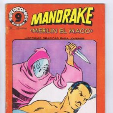 Cómics: SUPERCOMICS GARBO Nº 17. MANDRAKE, MERLÍN EL MAGO (LEE FALK). GARBO, 1973. Lote 32982977