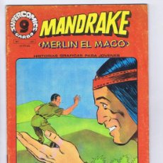 Cómics: SUPERCOMICS GARBO Nº 20. MANDRAKE, MERLÍN EL MAGO (LEE FALK). GARBO, 1973. Lote 32982988
