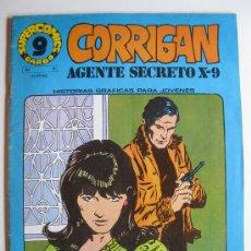 Cómics: CORRIGAN - AGENTE SECRETO X-9 - SUPERCOMICS GARBO Nº 9 - GARBO EDITORIAL - AÑO 1973.. Lote 33169340