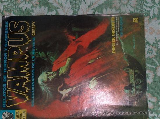 VAMPUS 19 (Tebeos y Comics - Garbo)