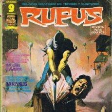 Cómics: RUFUS - Nº 27 - RELATOS GRÁFICOS DE TERROR Y SUSPENSE. Lote 34401665