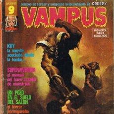 Cómics: VAMPUS - Nº 59 - RELATOS DE TERROR Y SUSPENSE SELECCIONADOS DE CREEPY. Lote 34401797