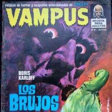 Cómics: VAMPUS NUMERO 31 . Lote 35045856