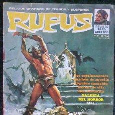 Cómics: RUFUS Nº 21 . Lote 35048740