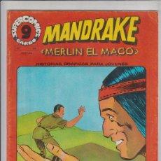 Cómics: MANDRAKE MERLIN EL MAGO Nº20 GARBO 1973. Lote 35615598