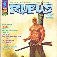 Fumetti: RUFUS Nº 30. Lote 35627210