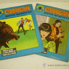 Cómics: LOTE 2 COMICS CORRIGAN AGENTE SECRETO X-9 Nº 9-24 GARBO 1973. Lote 35614046