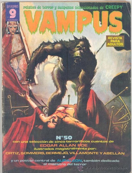 VAMPUS Nº 50 (Tebeos y Comics - Garbo)