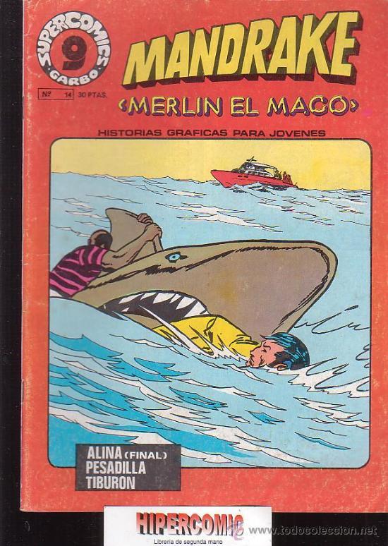 Cómics: MANDRAKE MERLIN EL MAGO, LOTE DE 7 EJEMPLARES -edita : GARBO AÑOS 80 - Foto 3 - 37256158