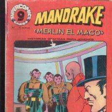 Cómics: MANDRAKE MERLIN EL MAGO, Nº 11 -EDITA : GARBO AÑOS 80. Lote 37257351