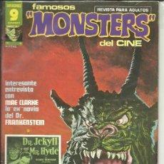 Cómics: FAMOSOS MONSTERS DEL CINE Nº 06 SUPERCÓMICS GARBO. Lote 37351180