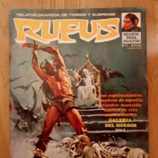 Cómics: REVISTA RUFUS - Nº 21 - 1975 - GARBO EDITORIAL - COMIC DE MIEDO, TERROR. Lote 39011797