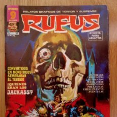 Cómics: REVISTA RUFUS - Nº 23 - 1975 - GARBO EDITORIAL - COMIC DE MIEDO, TERROR. Lote 39011782