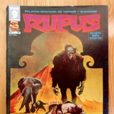 Cómics: REVISTA RUFUS - Nº 24 - 1975 - GARBO EDITORIAL - COMIC DE MIEDO, TERROR. Lote 68661018