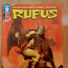 Cómics: REVISTA RUFUS - Nº 46 - 1977 - GARBO EDITORIAL - COMIC DE MIEDO, TERROR. Lote 37354381