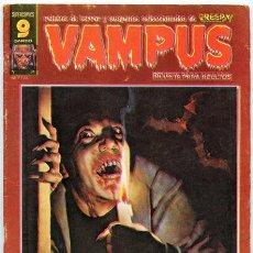 Cómics: VAMPUS - RELATOS DE TERROR Y SUSPENSE - Nº 74 - GARBO ED. - NOVIEMBRE 1977 (FREAKS). Lote 37764573