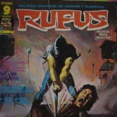 Cómics: RUFUS. COMIC PARA ADULTOS. Nº 27. Lote 38271105