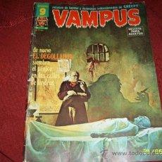 Cómics: VAMPUS.RELATOS DE TERROR Y SUSPENSE.Nº 51.ED.GARBO.1975.MAGNÍFICO EJEMPLAR.. Lote 38745468