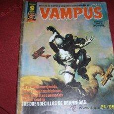 Cómics: VAMPUS.RELATOS DE TERROR Y SUSPENSE.Nº 61.ED.GARBO.1976.MAGNÍFICO EJEMPLAR.. Lote 38745530