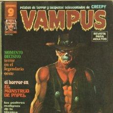 Fumetti: VAMPUS Nº 49 CON POSTER - STEVE DITKO, SUSO, LUIS BERMEJO, RAMON TORRENT, JOSE GUAL. Lote 38823912