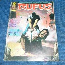 Cómics: RUFUS, Nº 27, GARBO,. Lote 38874235