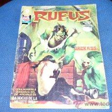 Cómics: RUFUS, Nº 25, GARBO,. Lote 38874354