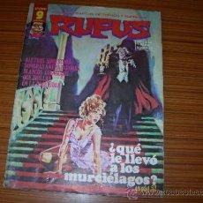Cómics: RUFUS Nº 47 GARBO . Lote 38875626