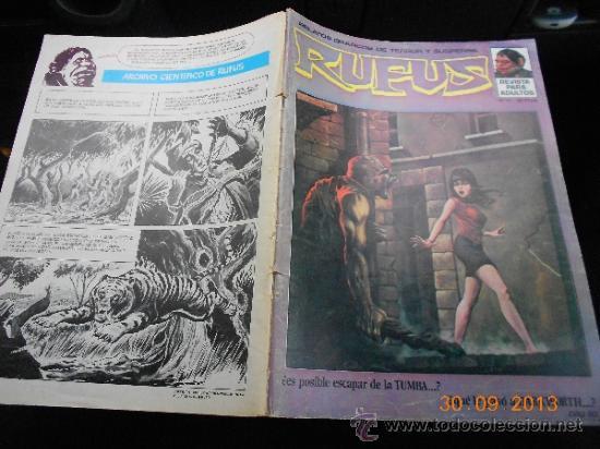 COMIC TERROR GARBO: RUFUS 12 LA.HB (Tebeos y Comics - Garbo)