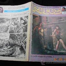 Cómics: COMIC TERROR GARBO: RUFUS 12 LA.HB. Lote 39282491