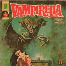 Cómics: VAMPIRELLA Nº 6 EDI. GARBO 1973 - AURALEON, ISIDRO MONES,ADOLFO ABELLAN. Lote 40416089