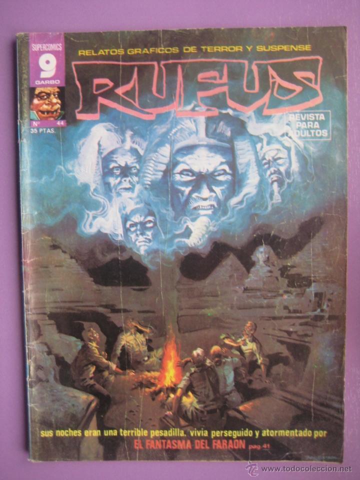 RUFUS Nº 44, ALFREDO ALCALA,E R CRUZ, RAMON TORRENTS, ETC... (Tebeos y Comics - Garbo)