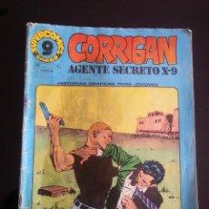 Cómics: SUPERCOMICS GARBO : CORRIGAN AGENTE SECRETO X-9 Nº 18 AÑO 1973 . Lote 41279578