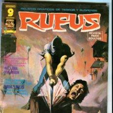 Cómics: RUFUS Nº 27 AGOSTO 1975. Lote 41348776