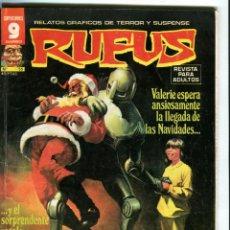 Cómics: RUFUS Nº 55 DICIEMBRE 1977. Lote 41348885