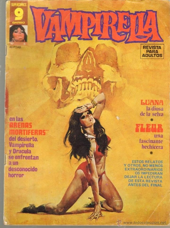 TEBEOS-COMICS CANDY - VAMPIRELLA - Nº 5 - ED. GARBO - 1973 - *BB99 (Tebeos y Comics - Garbo)