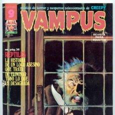 Cómics: VAMPUS - RELATOS DE TERROR Y SUSPENSE - Nº 56 - GARBO ED. - ABRIL 1976 (TIBURÓN). Lote 42425736