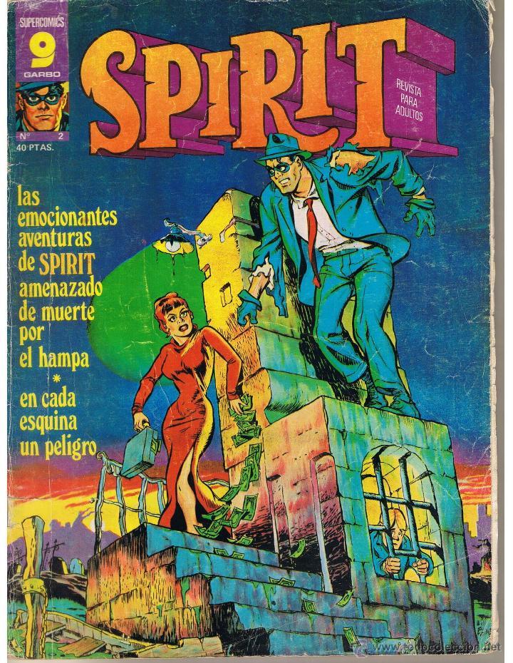 SUPER COMICS GARBO. SPIRIT. NUMERO 2. (Tebeos y Comics - Garbo)