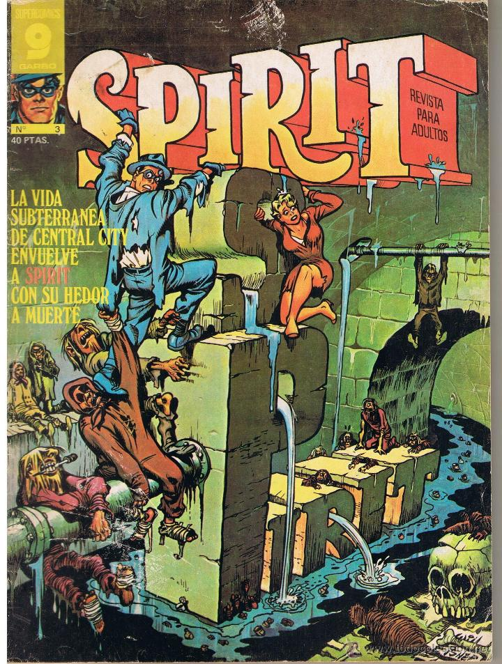 SUPER COMICS GARBO. SPIRIT. NUMERO 3 (Tebeos y Comics - Garbo)