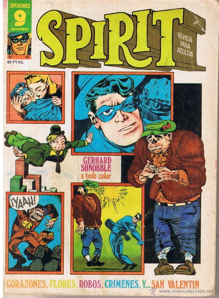 SUPER COMICS GARBO. SPIRIT. NUMERO 16 (Tebeos y Comics - Garbo)